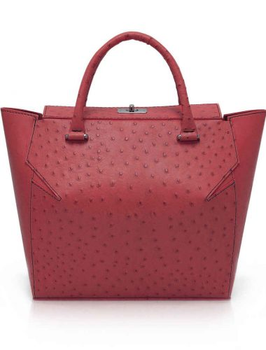 WINE RED MARQUIS TOTE