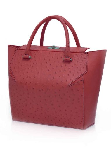 DARK RED MARQUIS TOTE