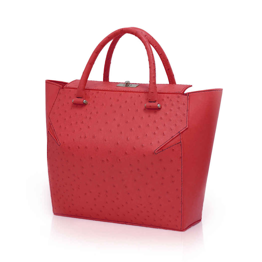 STRAWBERRY RED MARQUIS TOTE