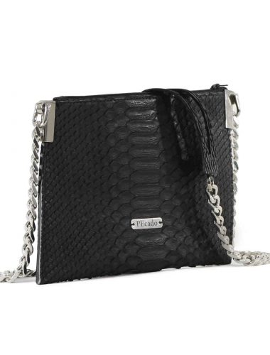 BLACK EMERALD CROSS BODY