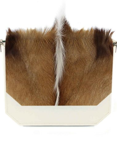 CREAM ANTELOPE RADIANT CLUTCH BAG