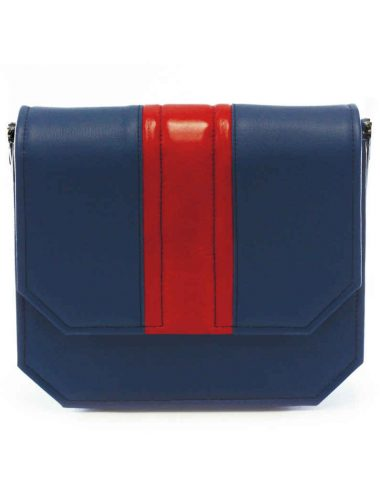 BLUE RADIANT CLUTCH BAG