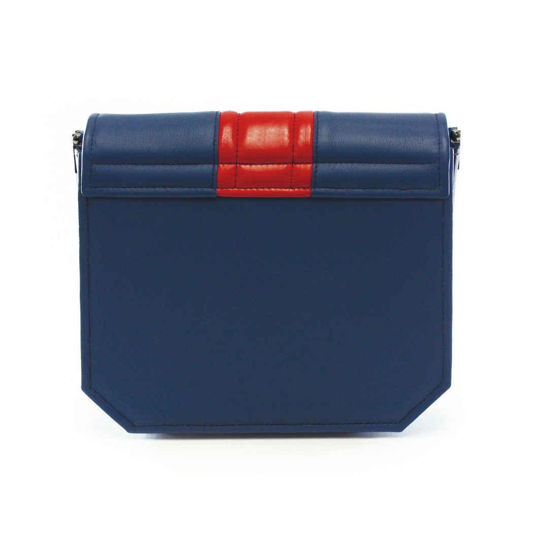BLUE RADIANT CLUTCH BAG