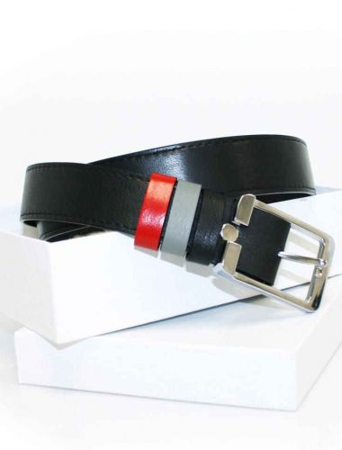 M-3 MEN'S LEATHER BELT