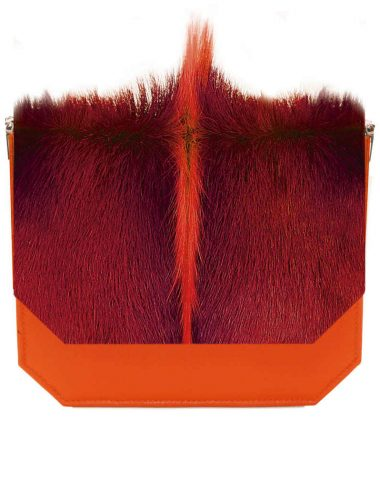 ORANGE ANTELOPE RADIANT CLUTCH BAG