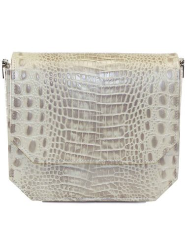 CHAMPAGNE RADIANT CLUTCH BAG