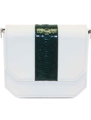 WHITE FOREST RADIANT CLUTCH BAG