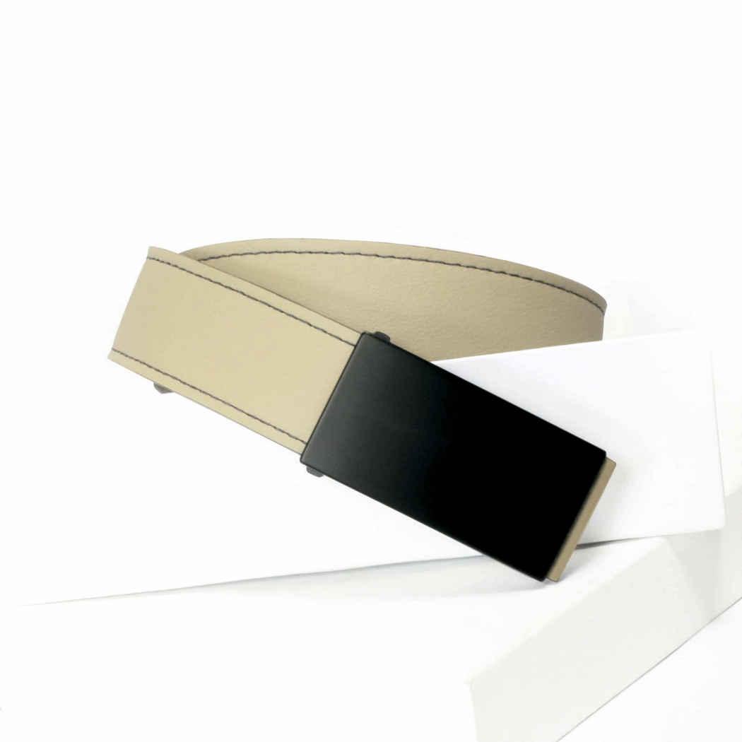 sand-colored Men's Belt
