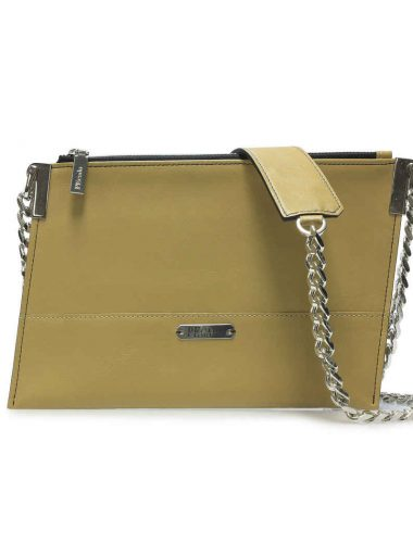DESERT LEATHER EMERALD CROSSBODY