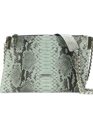 MINT PYTHON EMERALD CROSSBODY
