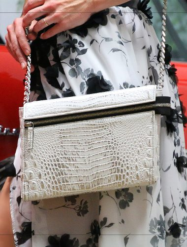 PEARL WHITE EMERALD CROSSBODY EXPENDED
