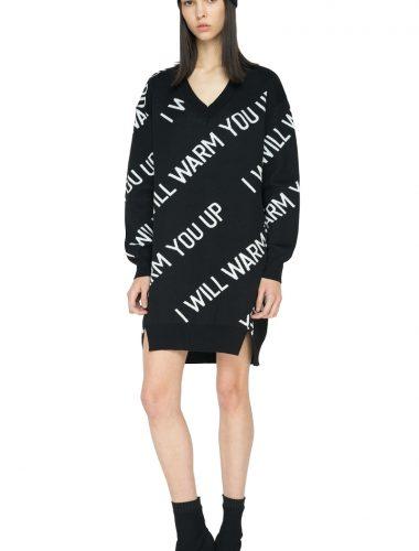 TAGO // BLACK ORLAN DRESS