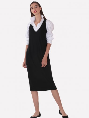 JENADIN // WOMENS SLEEVELESS DRESS