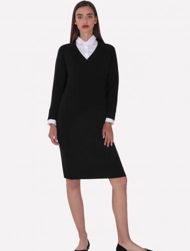 JENADIN // WOMENS LONG SLEEVE DRESS