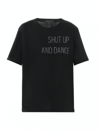 "DAFNA MAY // ""SHUT UP AND DANCE"" T-SHIRT"