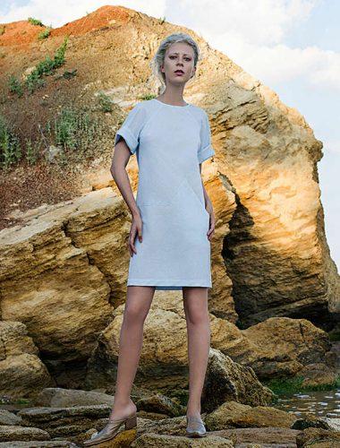 MERVEIS // T-SHIRT DRESS