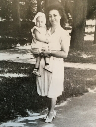 Designer, Alona Podoliak And Her Mother