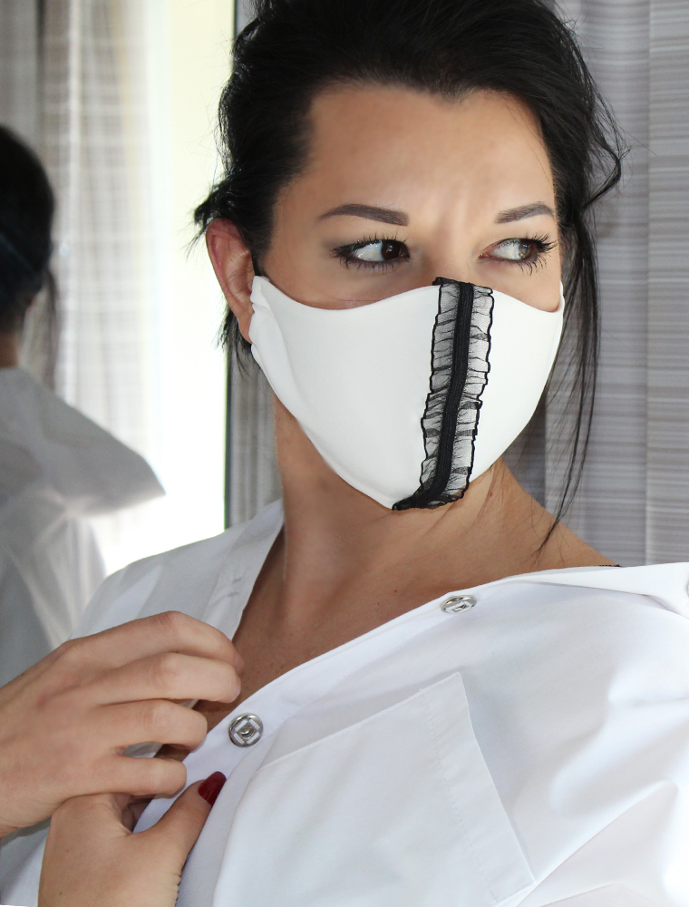 Luxury covid-19 facemask