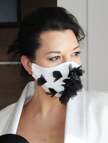 PECADO // COVID-19 FLOWER ELEGANCE FACE MASK
