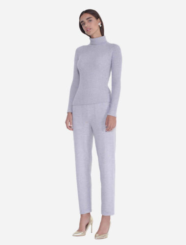JENADIN // STRAIGHT LEG MERINO WOOL KNIT PANT