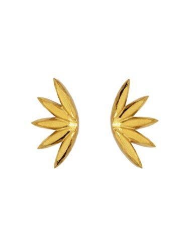VJV // PRENVERA EARRINGS, 14K GOLD PL.