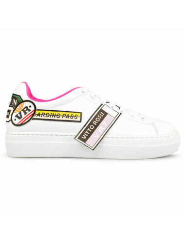 VITTO ROSSI // CASUAL STREET STYLE SNEAKERS, WHITE