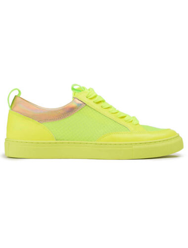 VITTO ROSSI // LOW-TOP LEATHER SNEAKERS, GREEN